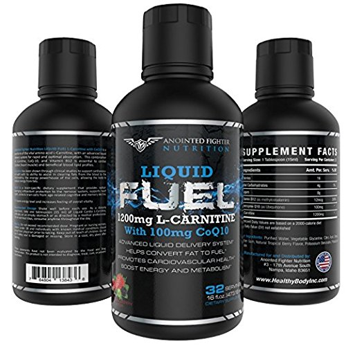 AFN L Carnitine-1200 MG B12-12 MCG Liquid Fuel will help Burn Fat and Boost en
