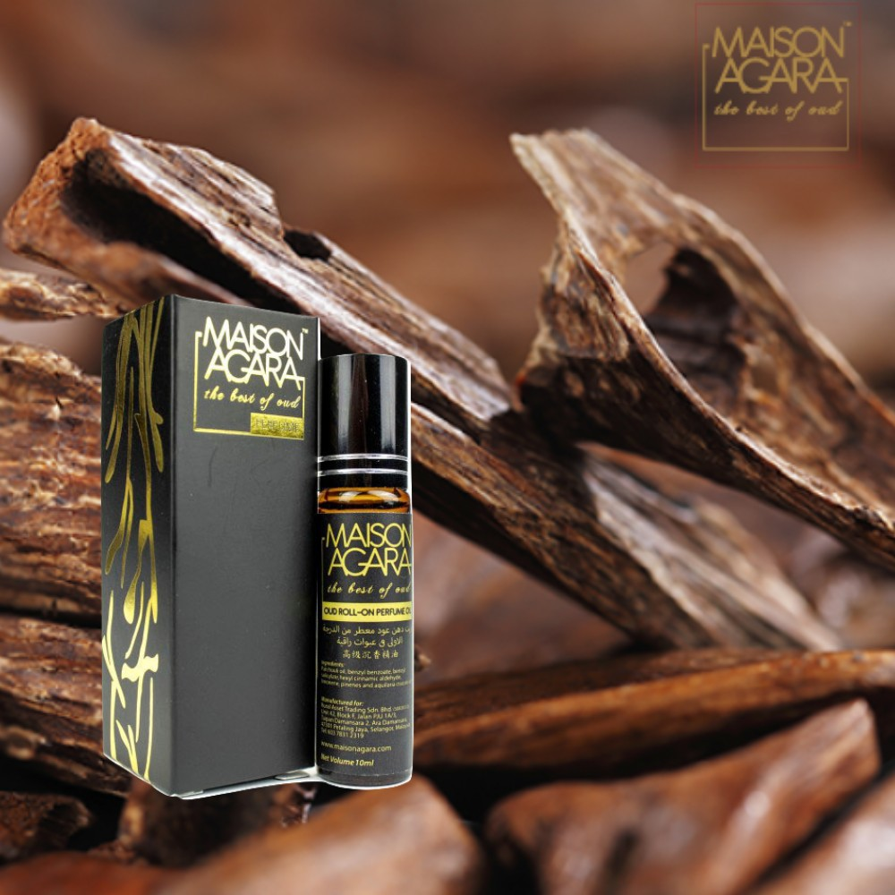 Agarwood Roll On Oud Perfume, 100% Authentic, Alcohol Free