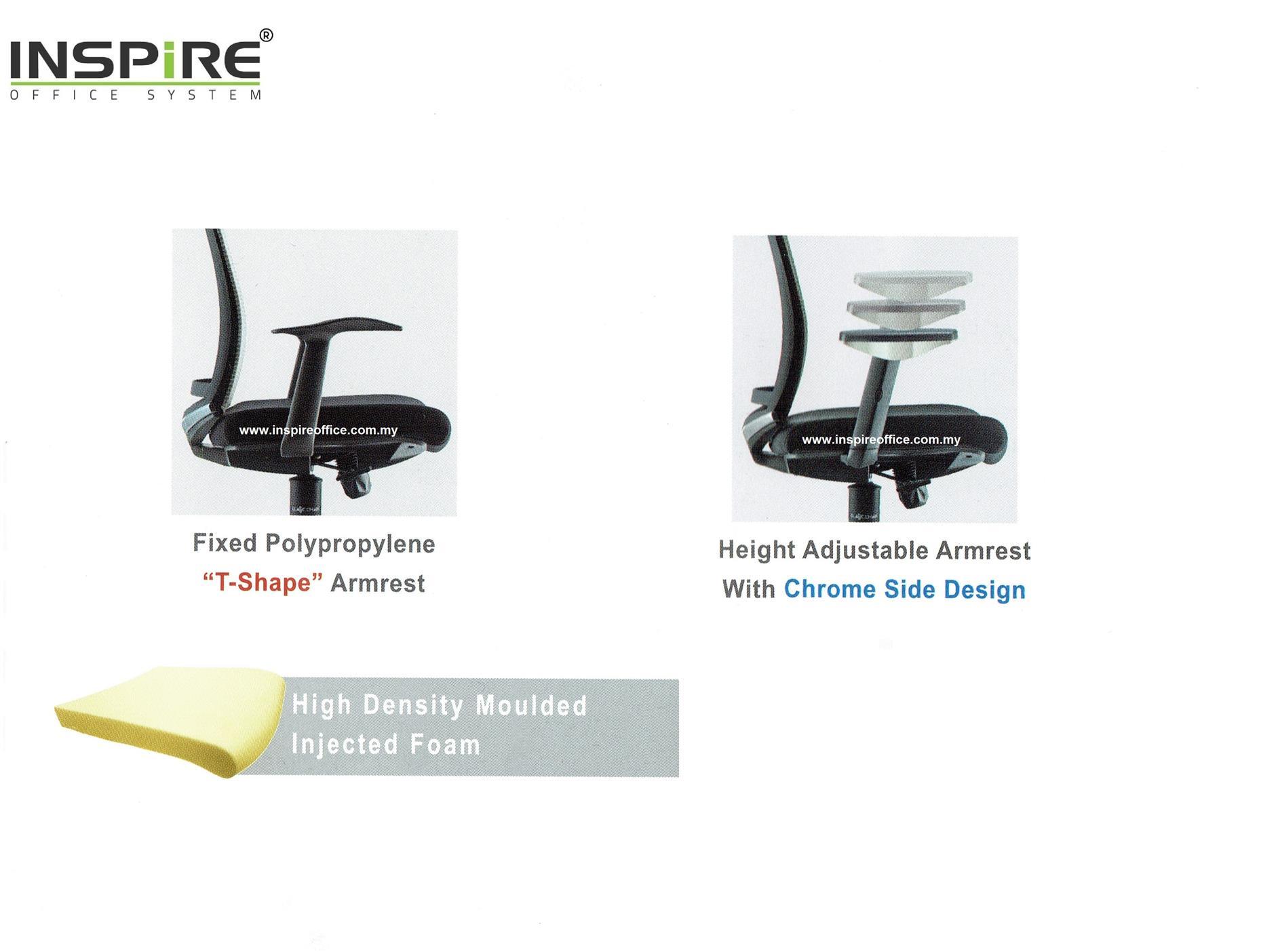 AGERA INS-2M Medium Back Mesh Office Chair