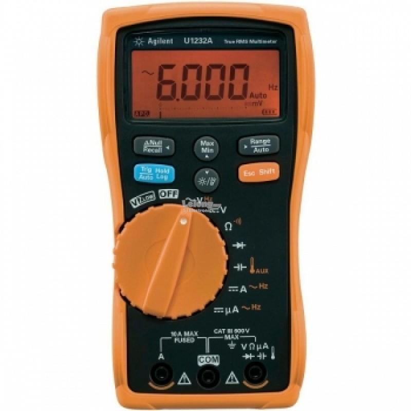 Agilent 6000 Count Digital Multimeter U1232A