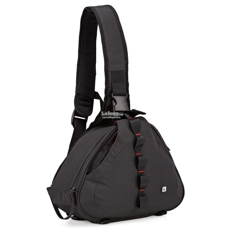 Agver CN-LTB062 Single Shoulder SLR Camera Bag- (BLACK)
