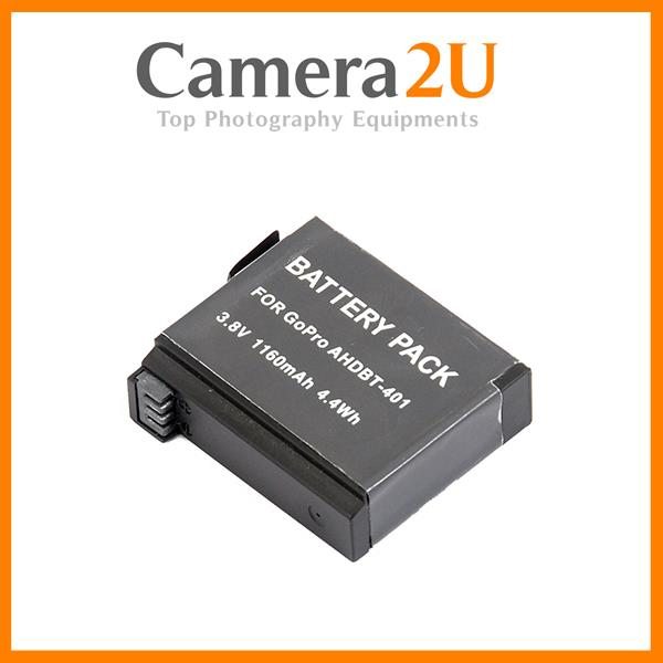 AHDBT-401 Rechargeable Battery for GOPRO HERO 4 Hero4 Action Camera