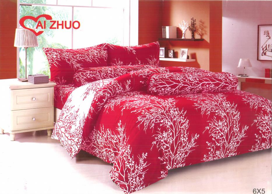 Ai Zhou Original 5 In 1 Bed Sheets (king Fitted Bedsheet)