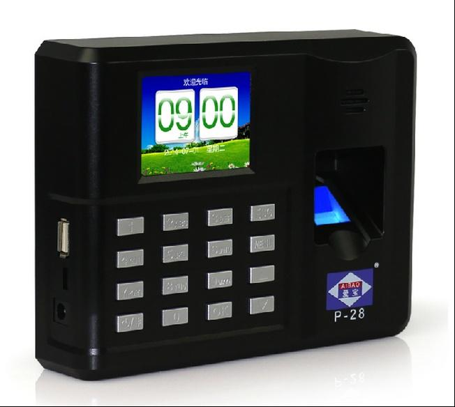 Aibao New Self Service Fingerprint Attendance System Model P28