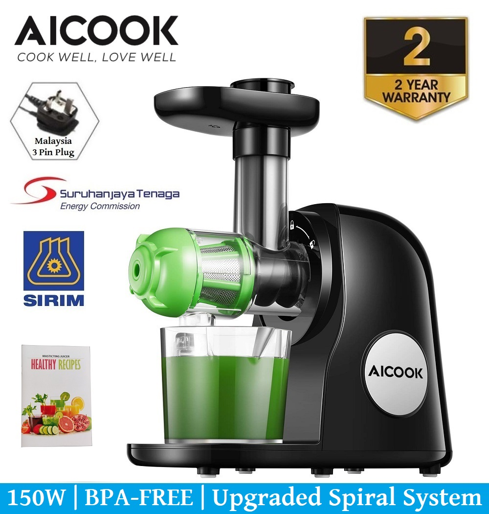 Aicook AMR521 Slow Masticating Juicer Slow Juicer Fruits & Vegetable