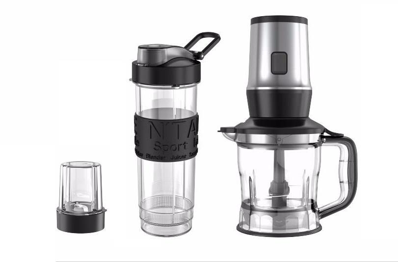 Aicook TB13SM 3 in 1Powerful 700W Personal Blender Chopper Grinder