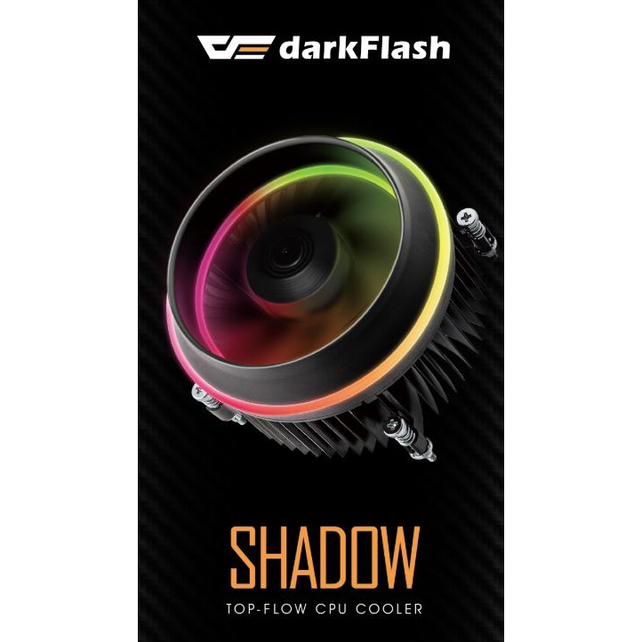 Aigo DarkFlash Shadow RGB CPU Cooler LGA 1156/ 1155/ 1150/ 1151/ 1200