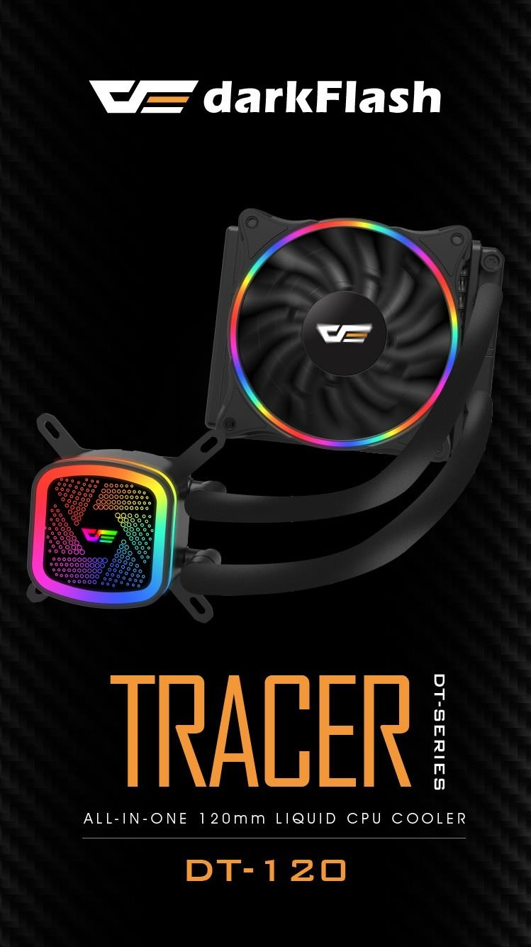 AIGO DARKFLASH TRACER DT-120 CPU COOLER