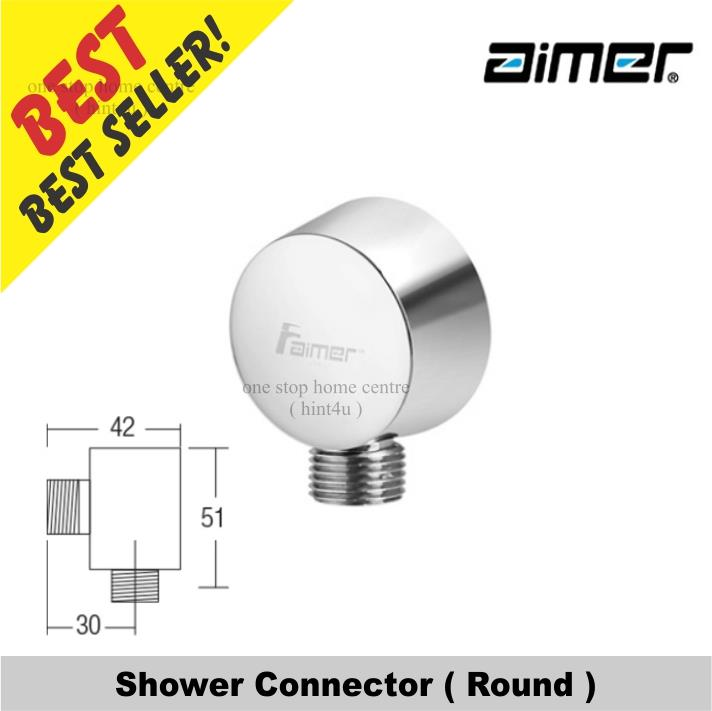 Aimer AMACC 012R Shower Connector (Round)