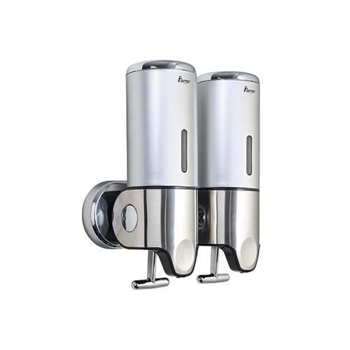 Aimer AMBA 242 Double Shampoo And Soap Dispenser