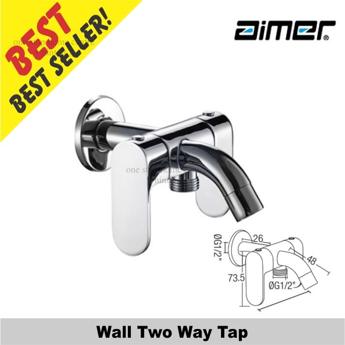 Aimer AMFC 5007 Wall Two Way Tap