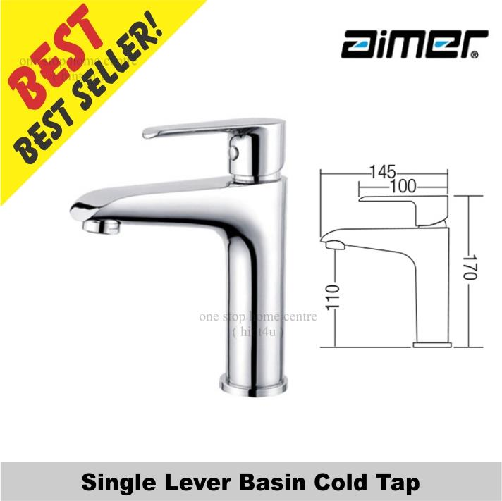 Aimer AMFC 6249 Single Lever Basin Cold Tap