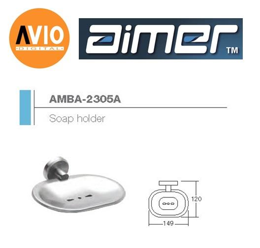 AIMER MALAYSIA AMBA-2305A STAINLESS 304 SOAP HOLDER