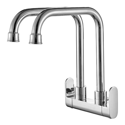 Aimer STG 5011 Twins Spout Wall Sink Tap