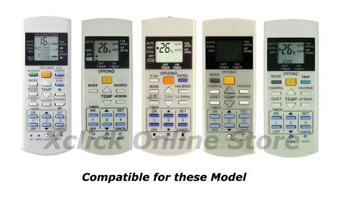 Air-cond Remote - Compatible for AC Panasonic