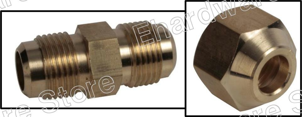 AIR-CONDITIONER LINE 45-DEGREE FLARE BRASS FITTING (FBF)