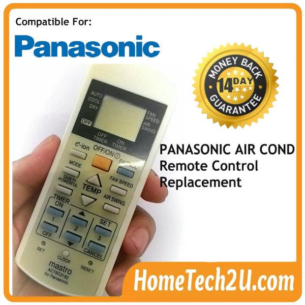 air conditioner remote control for end 11 7 2018 10 20 am rh lelong com my Panasonic Air Conditioner Parts Dealer panasonic inverter air conditioner remote control manual