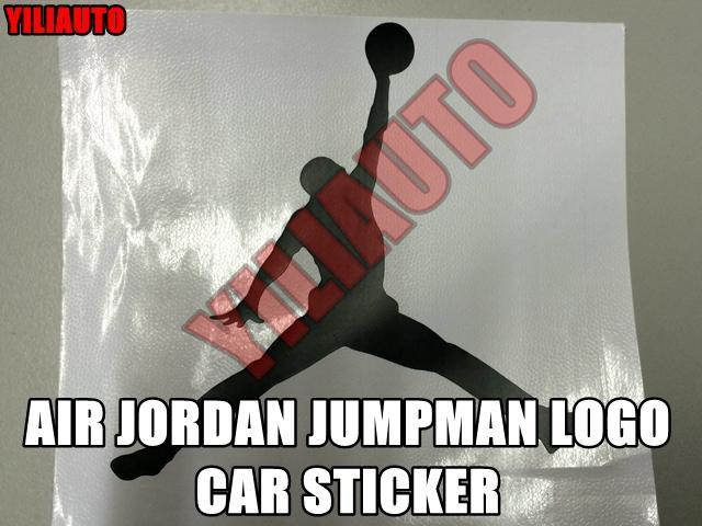 Air jordan jumpman logo car sticker