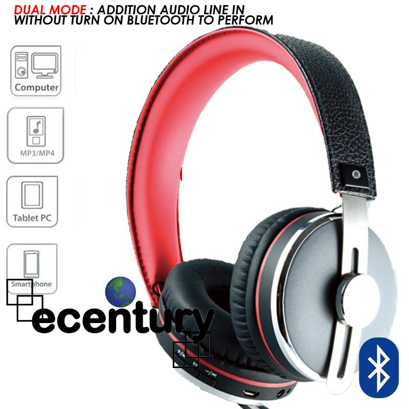 Air-Leather CLiPtec Bluetooth Wireless Stereo Headset Headphone PBH402