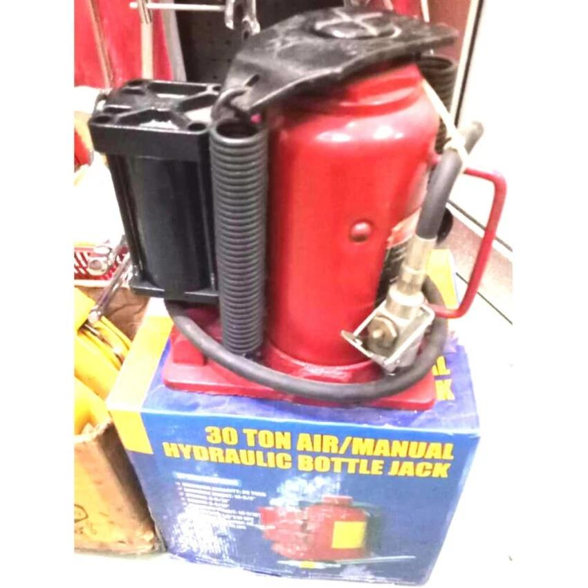 AIR OPERATED HYDRAULIC BOTTLE JACK - 30 TON