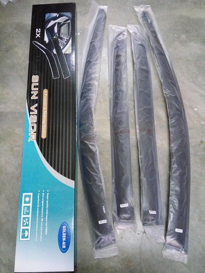 air press door visor perodua axia..4pcs/set..3inci..NEW OFFER!!!