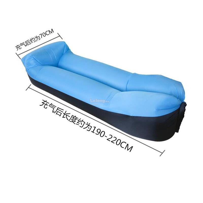 Inflatable Sofa Bed Flipkart: Air Lounger Sofa Bed