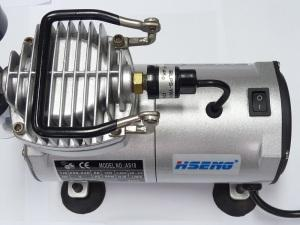 AIRBRUSH COMPRESSOR KIT 1/6hp 3bar/43psi,AS18K-2
