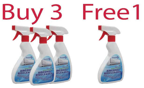 AirCond BioCleaner - Buy 3 Free 1