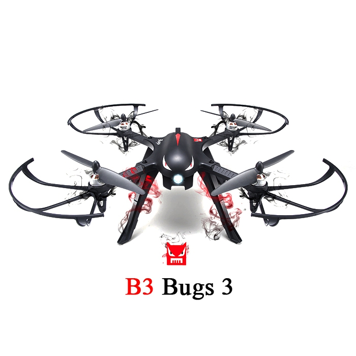 (AIRCRAFT) MJX B3 Bugs 3 RC Quadcopter RTF Two-way 2.4GHz 4CH with Act..