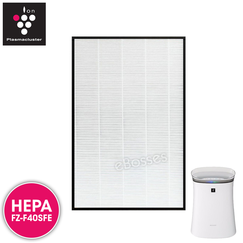 Airpro for Sharp FZ-F40SFE Replacement Air Purifier HEPA Filter for FP
