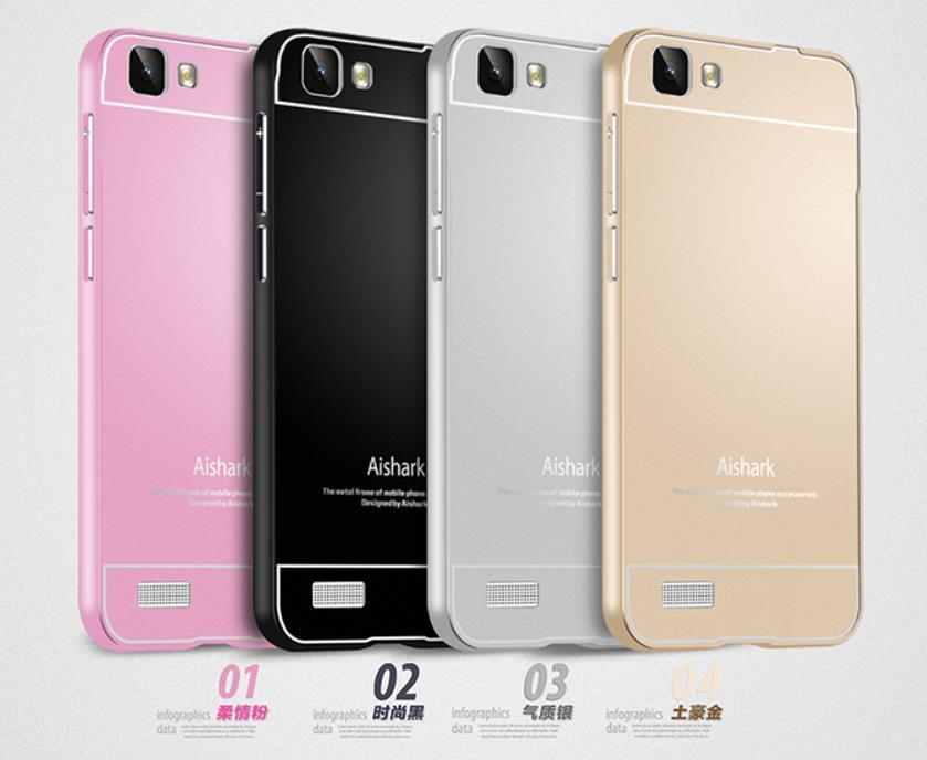 big sale 3c323 adf80 Aishark VIVO Y31 Y35 Metal Frame Case Cover Casing + Free Gifts