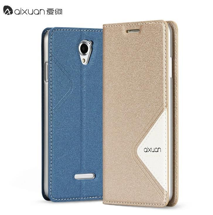 Aixuan Meizu MX4 MX 4 Flip Case Cover Casing + Free Screen Protector