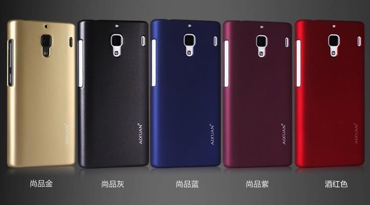 hot sale online 50c8e a1470 Aixuan Xiaomi Hongmi Redmi 1S Back Hard Case + Free Screen Protector