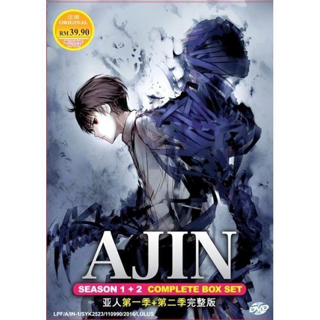 Ajin Demi-Human Season 1-2 Vol 1-26End Anime DVD