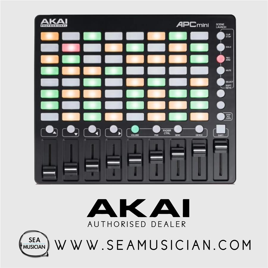 akai apc mini  AKAI APC MINI COMPACT ABLETON LIVE (end 11/9/2018 11:15 AM)