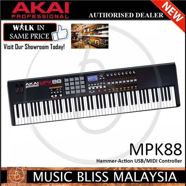 Akai Professional MPK88 Keyboard Controller ( MPK-88 )