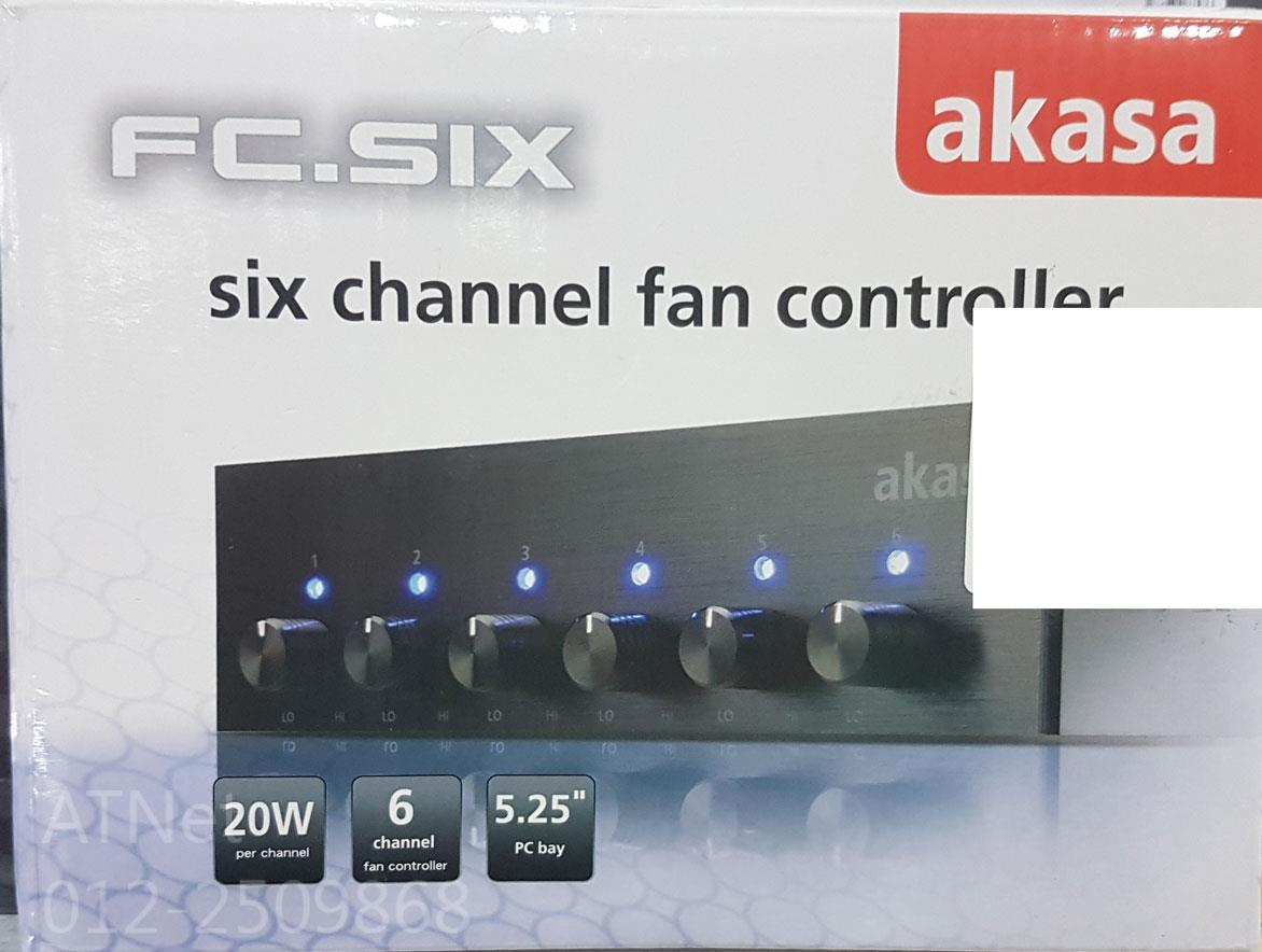 AKASA SIC CHANNEL FAN CONTROLLER FC.SIX