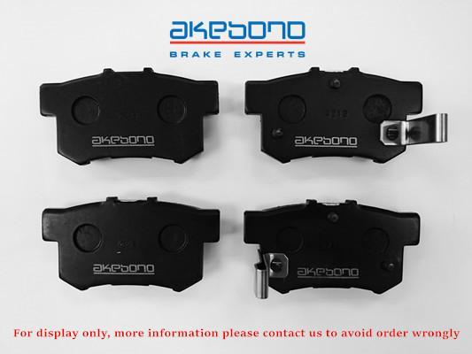 Akebono Brake Pad For Honda Accord / Civic (SDA, TAO, SNL, TRO)