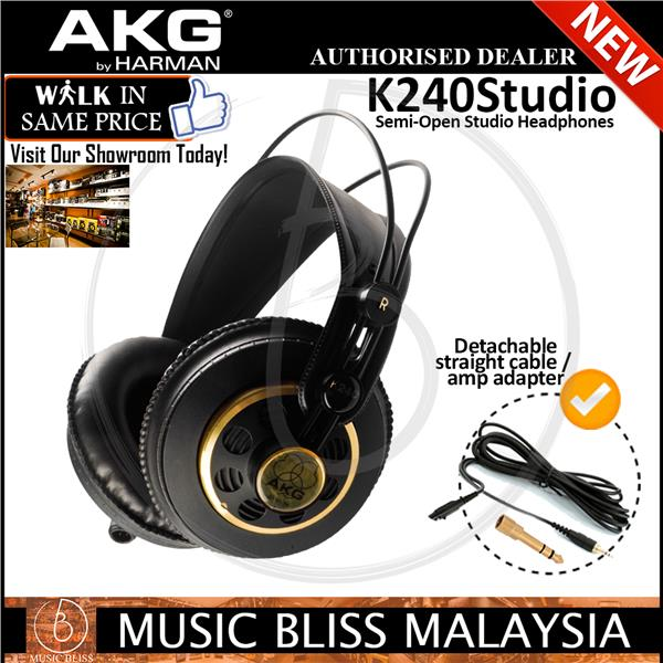 ed7d4d91da9 AKG K240 Studio Semi-open Pro Studio (end 2/9/2021 12:00 AM)
