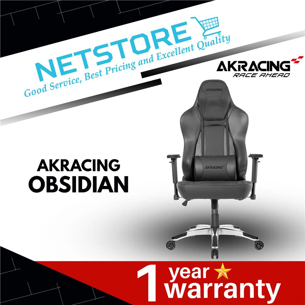 Phenomenal Akracing Obsidian Series Gaming Chair Aaaoe Black Machost Co Dining Chair Design Ideas Machostcouk