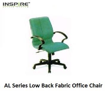 AL Series Low Back Fabric Office Chair