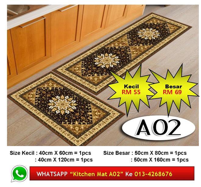 Alas Kaki Dapur Kitchen Floor Matt Carpet Design Turkish