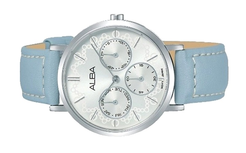 ALBA Ladies Multi Hand Leather Dress Watch VD75-X117SSL