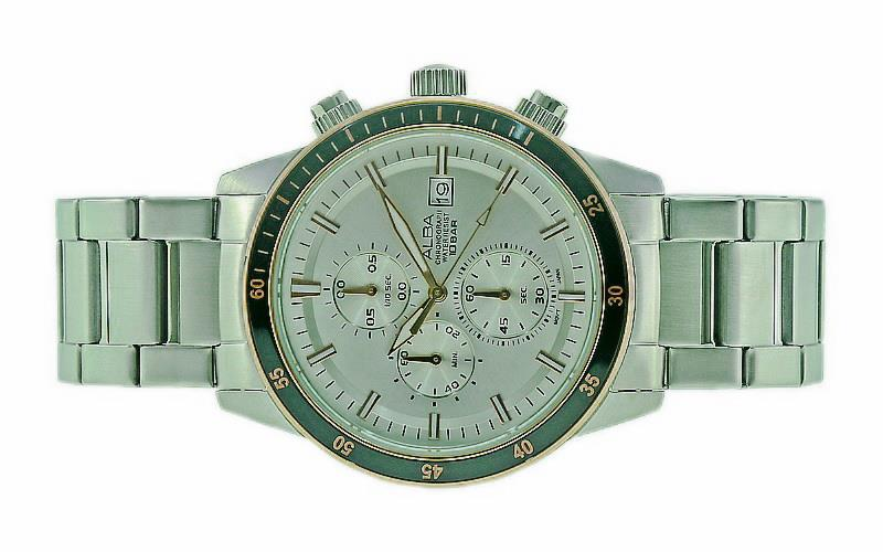 Alba Men Chronograph Watch VD57-X086SRGS