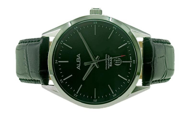 Alba Men Date Watch VJ42-X221BSL