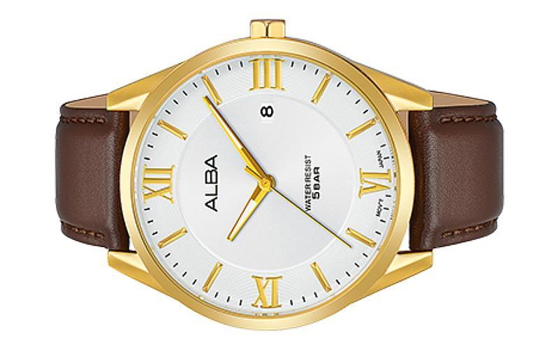 29d278618 Alba Men Prestige Leather Strap Date (end 1 24 2020 2 15 PM)