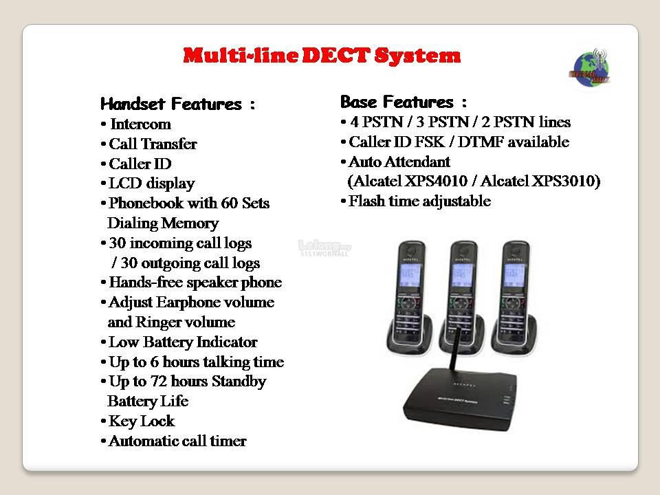 ALCATEL *Alcatel XPS3010 ( 3-Line PSTN / 12 Handsets )