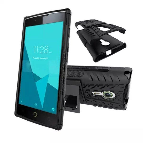 ALCATEL ONE TOUCH FLASH 2 TYRE DESIGN BACK CASE WITH STAND