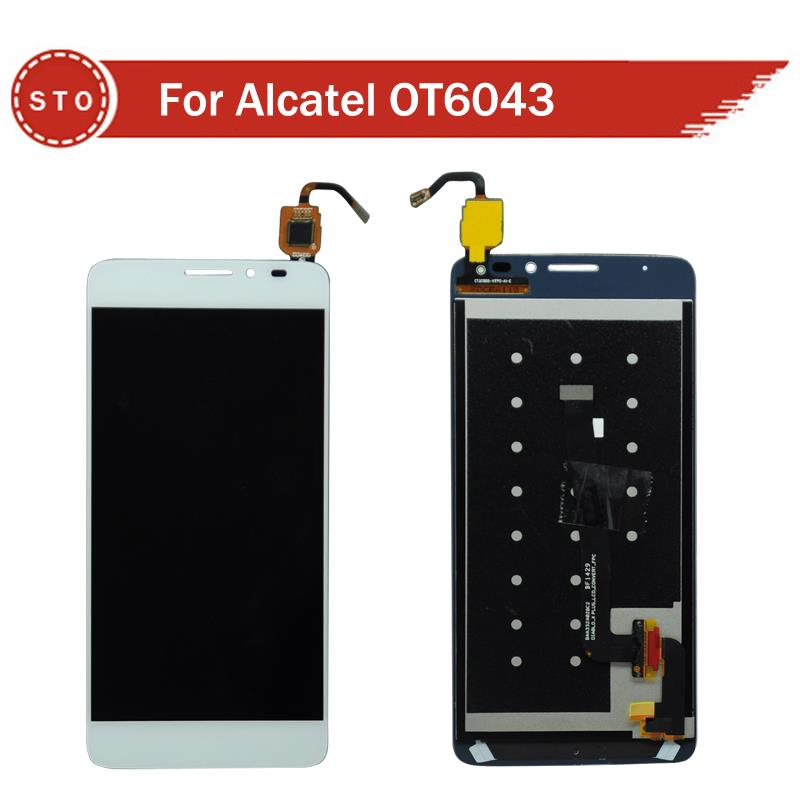 Alcatel One Touch Idol X 6043 6043D LCD Digitizer Touch Screen