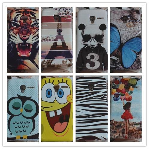 Alcatel One Touch Pixi 3 3.5 inch Cartoon Back Case Cover Casing